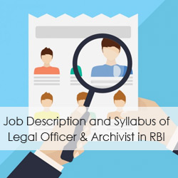 Job Description and Syllabus of Legal Officer & Assistant