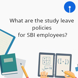 What are the study leave policies for SBI employees?