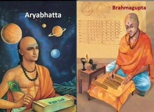 Who were Aryabhatta and Brahmagupta