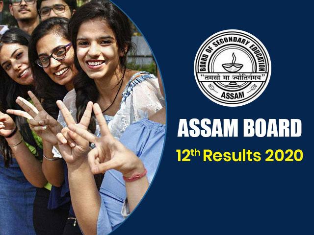 Assam Board HS (12th) Result 2020