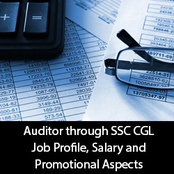 Auditor through SSC CGL Job Profile Salary and Promotional Aspects