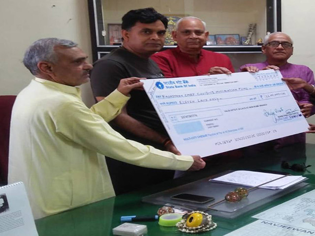 Banasthali Vidyapith Donates Rs 11 Lakhs to CM COVID-19 Relief Fund