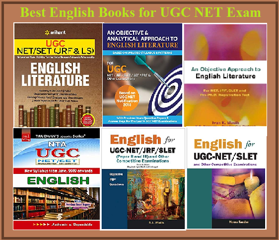 Best English Books for UGC NET Exam