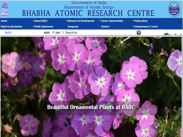 Bhabha Atomic Research Centre (BARC) Medical and Technical Officer Posts 2020