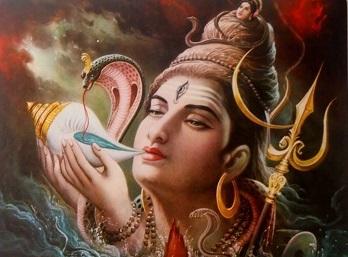 Bhagwan Shiv Drinking Poison