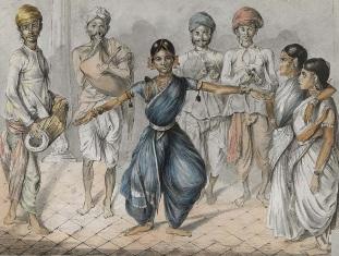 Bharatnatyam performing Devadasi