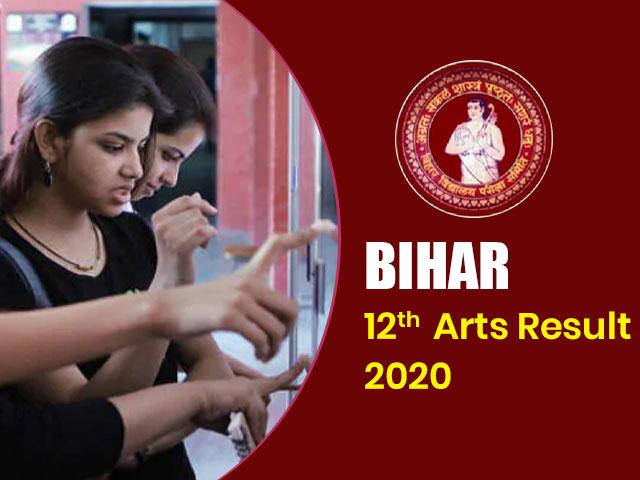 Bihar Board 12th Arts Result 2020