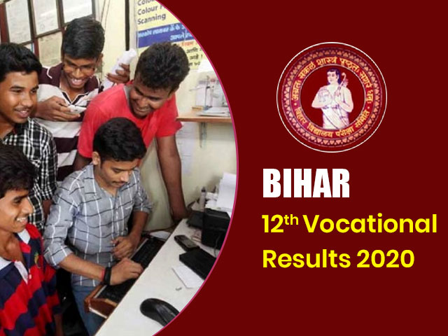 Bihar Board Intermediate (12th) Vocational Result 2020