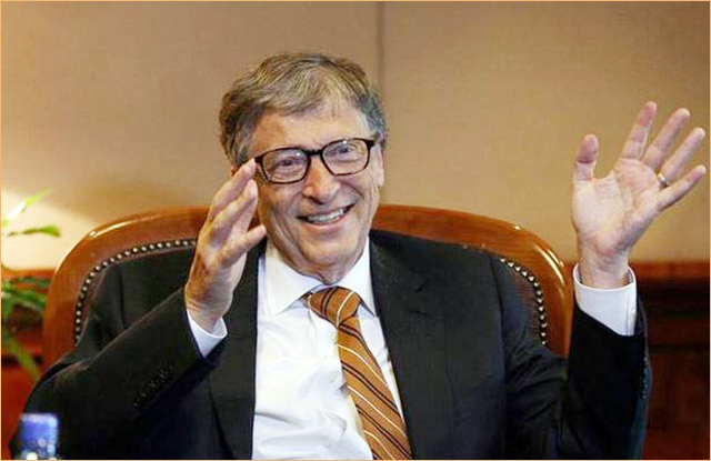 Bill Gates' lecture in NITI Aayog