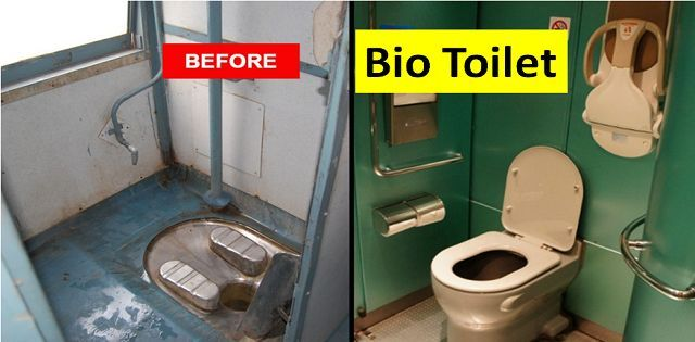 What is bio toilet and how does it work