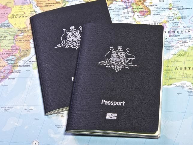 What is the meaning of Blue colour passport