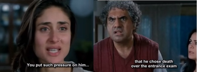 "A scene from the movie ""3 Idiots"""