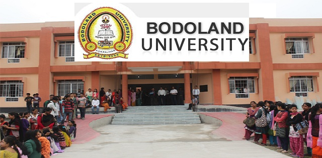 Bodoland University Office Assistant & Other Posts Job 2018