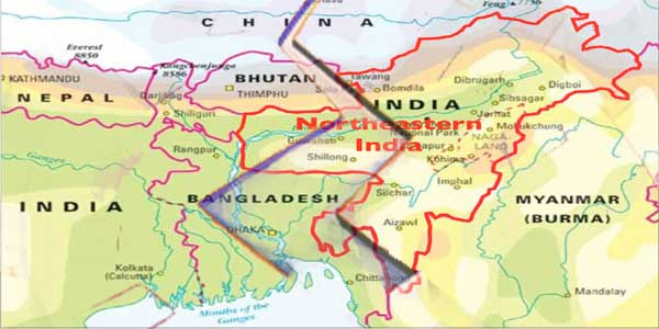 Border Disputes in North-Eastern India