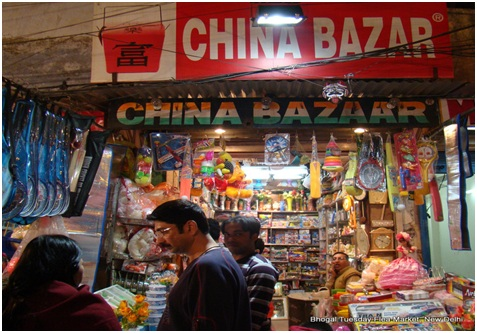 chinese products in india