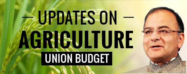 Union Budget 2017 Agriculture Sector