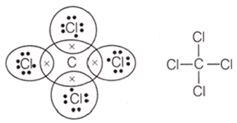 electron dot structure of CCl4