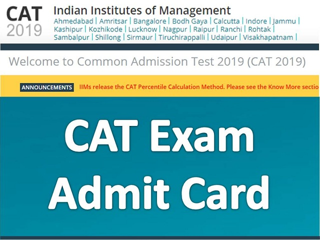 CAT 2018 Admit Card to be released tomorrow at iimcat.ac.in