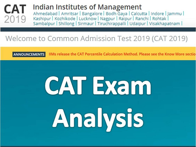 CAT Exam Analysis 2018