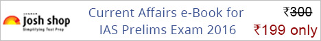Current Affairs for IAS Prelims