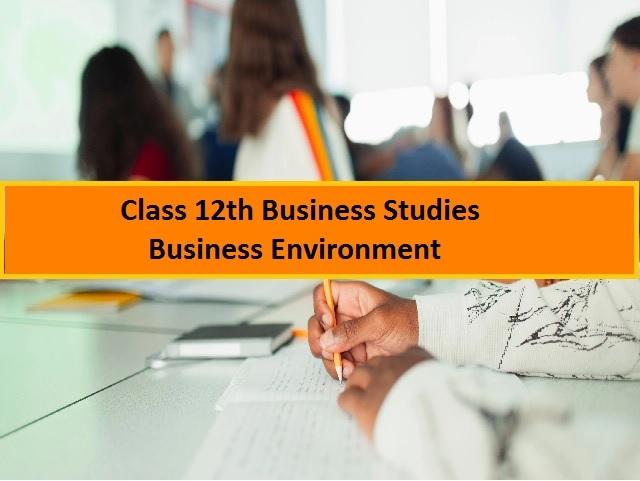 CBSE Class 12 Business Studies Chapter 3