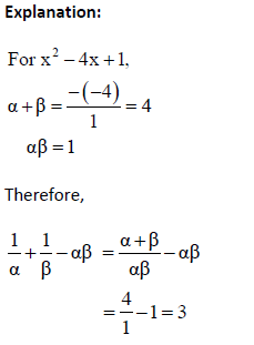 CBSE Class 10 Maths MCQs Chapter 2 Polynomials