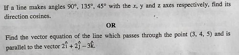 CBSE 12th Maths Paper 2019: Q 4