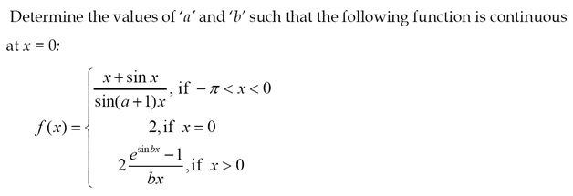 CBSE 12th Maths Sample Paper: Question number 14 (Optional)