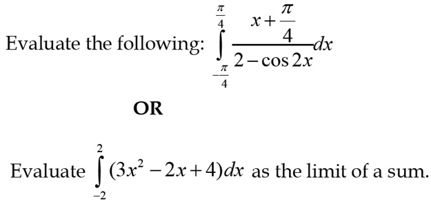 CBSE 12th Maths Sample Paper: Question number 27