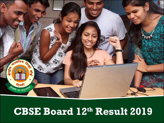 Check CBSE 12th Result 2019, CBSE Results, cbseresults nic
