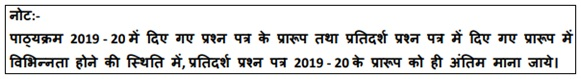 CBSE Class 10 Hindi B Sample Paper 2020 with Marking Scheme