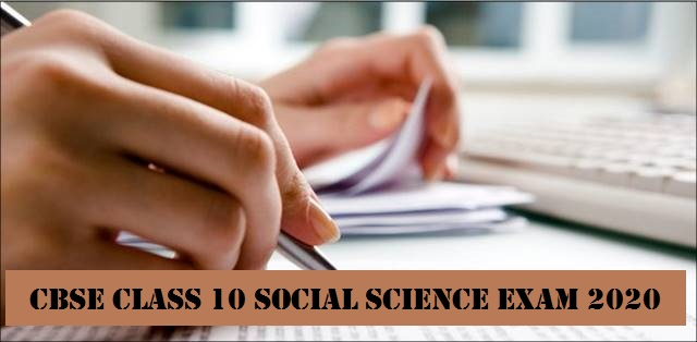 CBSE Class 10 Social Science Examination Pattern 2020: Details of Paper Format, Internal Assessment here with Exam Preparation Tips
