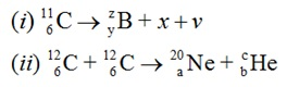 CBSE Class 12 Physics Board Exam 2016: Diagram of Long Answer Type Questions 3 Marks based on Nuclear Reaction