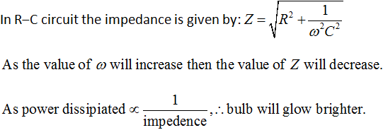 CBSE Class 12 Physics Board Exam Important MCQ Chapter 7 Alternating Current