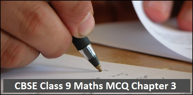 CBSE Class 9th Maths Exam 2020: Important MCQs with Answers from Chapter 3 Coordinate Geometry