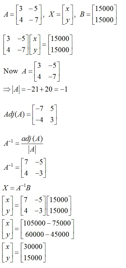 CBSE Class 12th Mathematics Solved Guess Paper: Solution 5