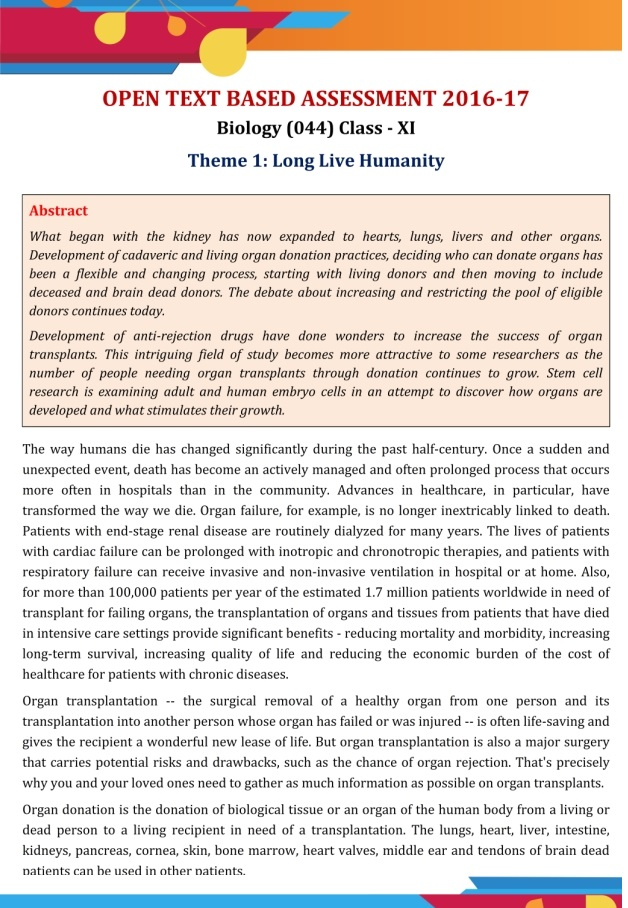 CBSE Class 11 Biology Revision Notes Chapter 1 - The Living World