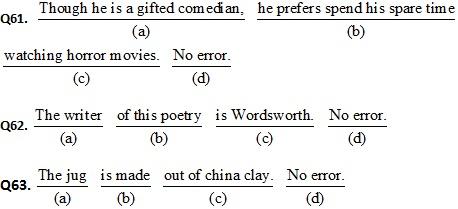 CDS II Exam 2016 English Question Paper