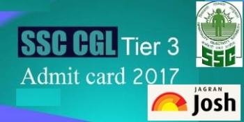 SSC CGL Tier-3 Admit Card