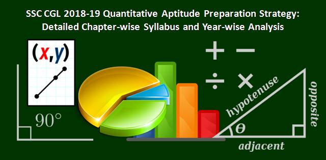 SSC CGL 2018-19 Quantitative Aptitude Preparation Strategy