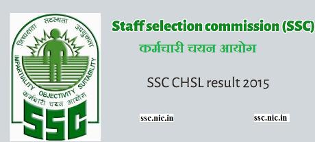 CHSL Result 2015