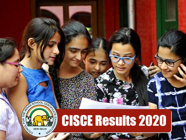 CISCE Board (ICSE/ISC) Result 2020