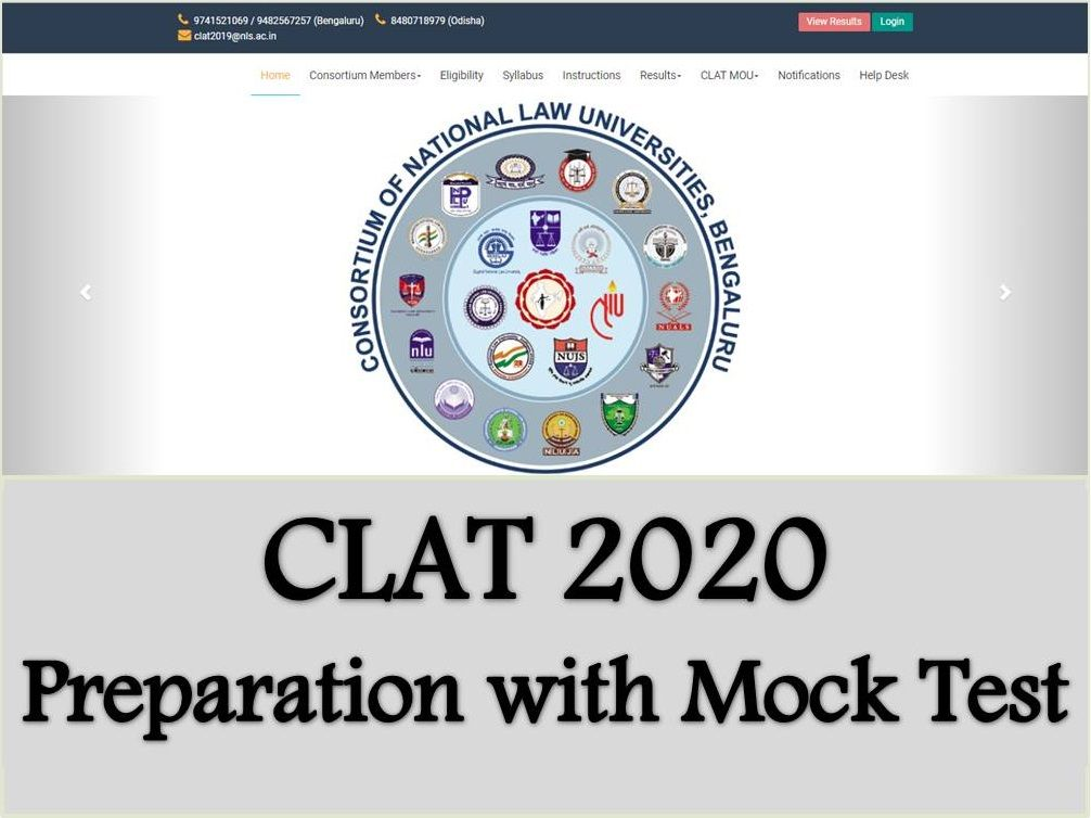 CLAT 2020 Preparation with Mock Test | How to prepare using Mock Tests