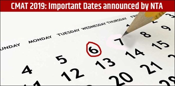 CMAT 2019 Notification out, Check Important Dates here