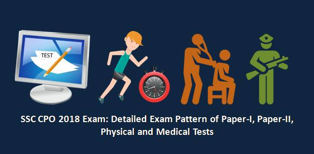 SSC CPO 2018 Detailed Exam Pattern