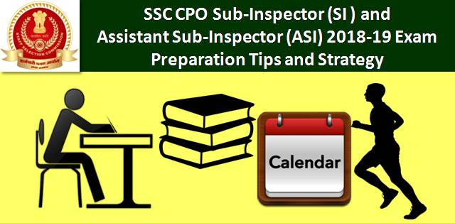 Sub-Inspector (SI) and Assistant Sub-Inspector (ASI) 2018-19