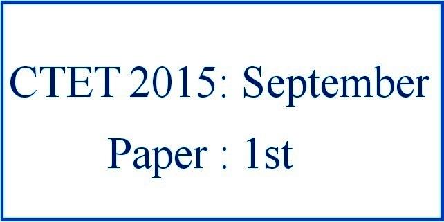 Ctet Syllabus 2015 Pdf In Hindi