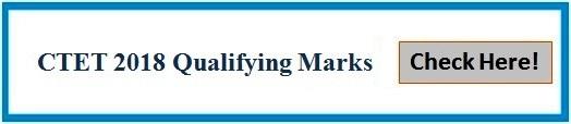 CTET 2018: Check qualifying marks