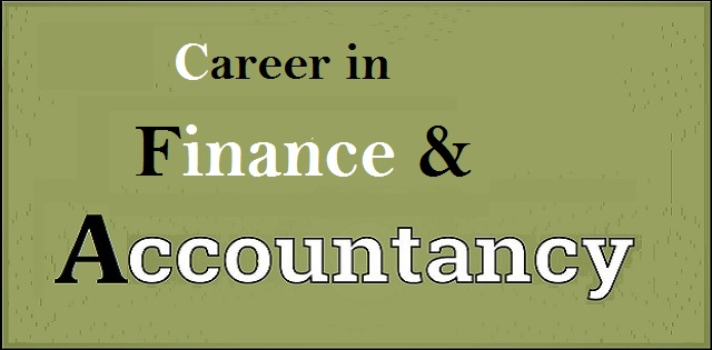 Career in Finance and Accountancy