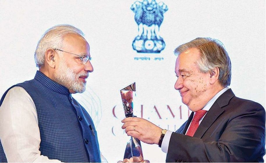 Champions of the Earth Award modi
